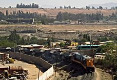 Tren del Hierro (Sebastin Betancourt) Tags: tren ferrocarril transporte carga ferronor vallenar atacama region gr12 hierro trendelhierro rednorte chile minaloscolorados