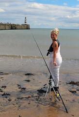 stalker sea fish 001 (team stalker) Tags: sexy woman milf stockings pvc shiny panties sexylegs blonde fishnets boots satin carp fishing lake carpie