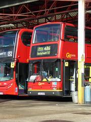 GAL PVL364 - PJ53SOU - BX BEXLEYHEATH BUS GARAGE - SUN 21ST AUG 2016 (Bexleybus) Tags: goahead go ahead london bx bexleyheath bus garage kent tfl route pvl364 pj53sou plaxton presidet volvo 486