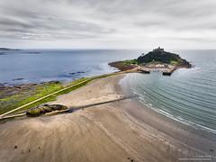 DJI_0024 (opnwong) Tags: aerial cornwall dji england phantom4 stmichaelsmount marazion unitedkingdom gb drone island sea water landscape ngc landmark