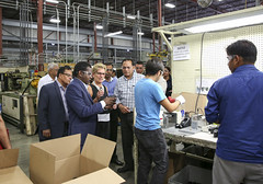 IMG_1048  Premier Kathleen Wynne toured RAM Plastics in Scarborough. (Ontario Liberal Caucus) Tags: scarborough industry thiru smallbusiness business
