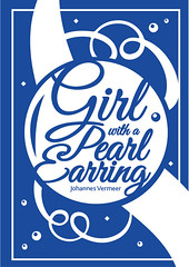 Typographic Illustration - Girl with a Pearl Earring (nuthon) Tags: typography poster illustration artist design font master degree nuthon art 2016 famous painting inspire girl pearl earring