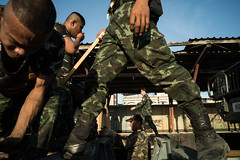 * (Sakulchai Sikitikul) Tags: street snap streetphotography songkhla voigtlander 28mm thailand hatyai military soldier sony a7s