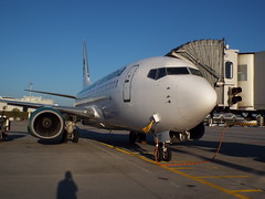 Germania B-737-700 (antallajos) Tags: munich airfrance klm uzbekistan airbus boeing ellinair condor germania transavia b767 b737700 b737800 a320 a319 mnchen