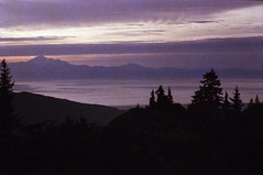(all this is true) Tags: canona1 canonfd35105mmf35 mountbaker fraservalley dawn purple fog