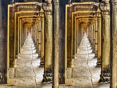False 3D (Bruno Zaffoni) Tags: angkorwat cambodia 3d stereoscopy stereophotography conversion3d