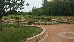 Carol Shields Memorial Labyrinth (canadianlookin) Tags: carolshields memorial labyrinth kingspark winnipeg manitoba garden peace tranquility august 2016