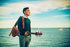 Joshua Young 2016 (hal04293) Tags: music art artist bass guitar ibanez massachusetts jazz ocean sea