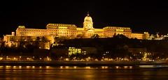 Buda Castle (Budavri Palota) (brolyxxx) Tags: city castle night 35mm nikon budapest gimp f18 budacastle d3100