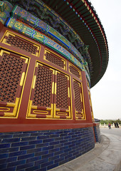 Temple Of Heaven, Beijing, China (Eric Lafforgue) Tags: china city people color colour history tourism vertical architecture temple person photography asia heaven day outdoor religion beijing dome spirituality templeofheaven ancientcivilization groupofpeople buildingfront eastasia placeofworship chineseculture pekin capitalcity realpeople capitalcities traveldestinations colorimage famousplace buildingexterior colorpicture placeofinterest internationallandmark lowangleview traveldestination traditionallychinese mg0080 groupofpersons stepandstaircase