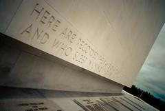 Insane Here And (Insane Focus) Tags: cemetery rain word grey nikon memorial rip ardennes rainy american pench d80