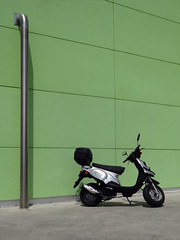 Scooter TGB 101S (Home Land & Sea) Tags: newzealand notmine scooter supermarket nz carpark countdown napier sonycybershot 2007 hawkesbay homelandsea tgb101s dschx100v