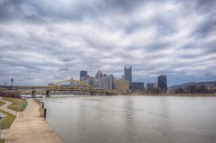 A cloudy day over the Pittsburgh skyline HDR (Dave DiCello) Tags: beautiful skyline photoshop nikon pittsburgh tripod usxtower christmastree mtwashington northshore northside bluehour nikkor hdr highdynamicrange pncpark thepoint pittsburghpirates cs4 ftpittbridge steelcity photomatix beautifulcities yinzer cityofbridges tonemapped theburgh clementebridge smithfieldstbridge pittsburgher colorefex cs5 ussteelbuilding beautifulskyline d700 thecityofbridges pittsburghphotography davedicello pittsburghcityofbridges steelscapes beautifulcitiesatnight hdrexposed picturesofpittsburgh cityofbridgesphotography