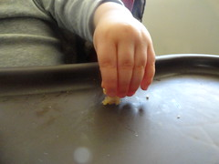 lunch time (Lynn Kelley Author) Tags: food toddler wana fingerfood babyhand chickennugget lynnkelley curseofthedoubledigits bbhmcchiller monstermoonmysteries lynnkelleychildrensauthor