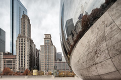 Cloud Gate Reflections (35mmCafe) Tags: city usa chicago building architecture modern america skyscraper illinois unitedstates structures bean milleniumpark architectural cloudgate citycenter citycentre urbanlandscape commercialbuilding 01002000 01000000 07000000 06000000 06007000 06002000 06002002 07003000 07003003