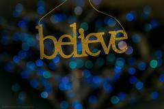 Week 51: Believe (jbone66 (Jay B)) Tags: christmas holiday tree canon hope holidays bokeh quote ornament believe positive 2012 week51 positivity weekofdecember16 week51theme 522012 52weeksthe2012edition