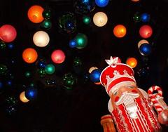 The Nutcracker (Phyllis74) Tags: christmas decorations holiday festive lights christmaslights nutcracker christmasdisplay kalightoscope christmasatthegalthouse