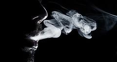 Smoke (juancarcantabria) Tags: selfportrait silhouette smoke flash autoretrato silueta humo canon1740mmf4lusm strobist canon5dclassic