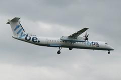 G-JEDR Birmingham 1 June 2012 (ACW367) Tags: birmingham dash8 flybe gjedr dehavillandcanada dhc8q402