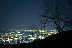 Silent Night (peaceful-jp-scenery) Tags: night lights minolta sony explore   amount   powerzoom dslra900 900  af35200mmxif4556 mtmyojyo myojyoyamapark