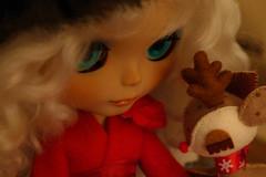 Ginger Loves her new Bambi