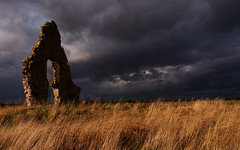 Midley church ruins (Cortez34) Tags: landscape kent ruins churches dramiticskys