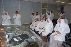 Minister of Economy and Planning visits AEC2 (Advanced Electronics Company - Saudi Arabia) Tags: