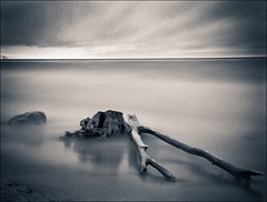Untitled (Explore #7 - December 27, 2012) (Calvin J.) Tags: longexposure blackandwhite ontario water landscape nikon monochromatic lee scarborough nikkor 2470mmf28 nd110 eastpointpark d3s bigstopper