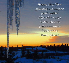 Happy 2013 to all my Flickr friends and visitors! (peggyhr) Tags: trees houses friends sky snow canada clouds sunrise alberta icicles finegold thegalaxy 25faves peggyhr artistspotlight bluebirdestates myfriendspictures 100commentgroup dragonflyawards flickraward zensationalworld addictedtonature fleursetpaysages mygearandme blinkagain thelooklevel1red thelooklevel2yellow thelooklevel3orange thelooklevel4purple thelooklevel5green thelooklevel6blue img2918b