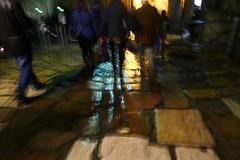 January 1, 2013 at 0.18am GMT (*F~) Tags: city light people motion feet portugal night walking movement earth path lisboa castelo