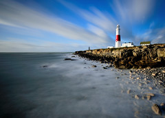 Portland Lighthouse (Mark A Jones (Andreas Jones Photography)) Tags: portlandbill portlandbilllighthouse portlandlighthouse portland weymouth dorset jurassiccoast dorsetcoast coast rocks waves sea seascape landscape lighthouse nikon d700 sunrise storm englishchannel leefilters leebigstopper