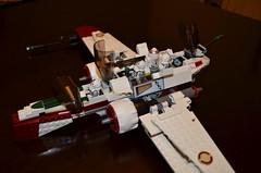Lego Star Wars set 7259 (T_thebricker) Tags: star lego clones legos wars clone droid astromech minifigures arc170