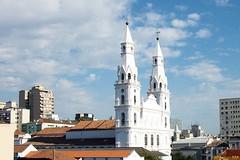 Igreja Nossa Senhora das Dores (AR - Eloísa Rodrigues) Tags: sky building church june clouds kodak portoalegre 2012 nossasenhoradasdores