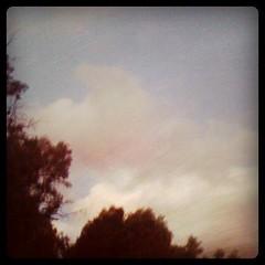 Clouds, dusk