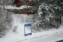 Vinterstemning p stensjbanen (Andreas Viseth) Tags: metro tbane ulsrud skyensen tbanen oppsal stensjbanen