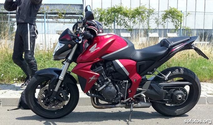 Honda CB 1000 R Vermelha