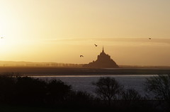 Grouin du Sud (Helodie) Tags: sunset du normandie sud montsaintmichel baie grouin