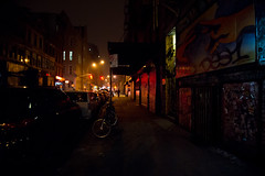 Lower East Side - Night - New York City (Vivienne Gucwa) Tags: city nyc newyorkcity urban mist streetart newyork silhouette fog graffiti noir shadows streetlights manhattan lowereastside gothamist nycstreet curbed nycgraffiti abcnorio urbanphotography nycnight rivingtonstreet wnyc newyorkgraffiti newyorknight nycphoto nycstreetart cityphoto cityphotography newyorkphoto newyorknoir nycnoir nycphotography newyorkcityphotography manhattannight nycfog lowereastsidenight lowermanhattanatnight viviennegucwa viviennegucwaphotography