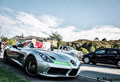 Moss. (E-Magine Photography) Tags: auto slr beach beautiful car clouds silver mercedes benz monterey moss open shot good top stirling gorgeous gray fast drop lodge pebble mclaren forza carmel week supercar quail motorsport 2012 roadster emagine hypercar