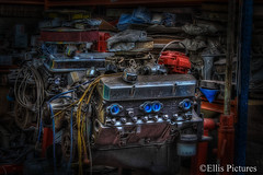In the Garage (Ellis Pictures) Tags: