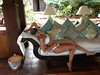 "Hayley Roberts Posted a photo on Twitter with the caption ""In our room in necker so amazing to be here"""