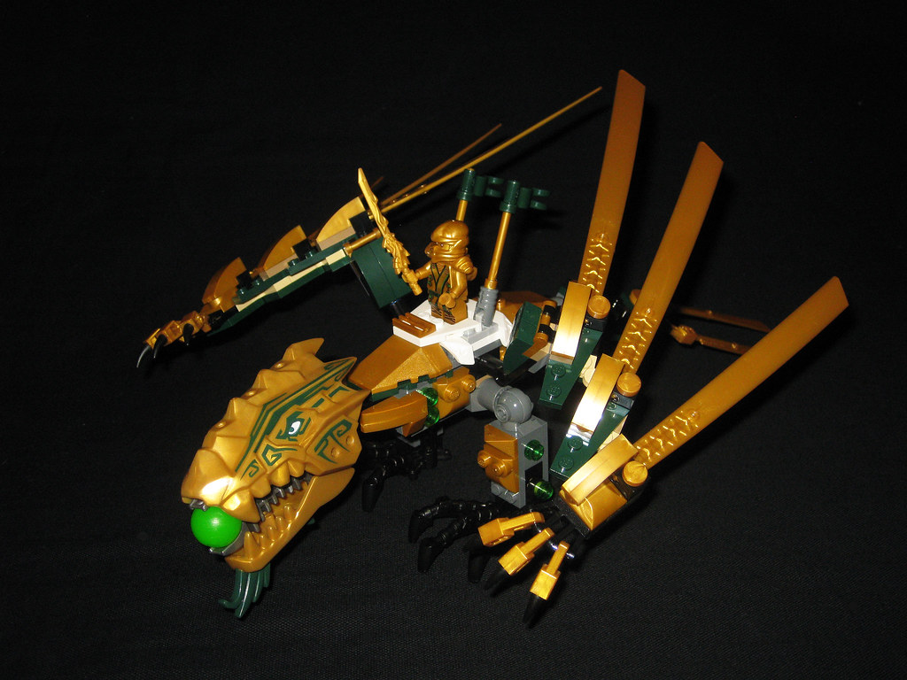 The world 39 s newest photos of golden and ninjago flickr - Lego ninjago d or ...
