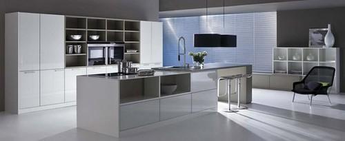cocinas modernas blancas 2