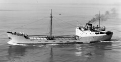 """The M.V. """"Mercadal"""" (colinfpickett) Tags: sea water boat ship craft vessel coaster freighter"""