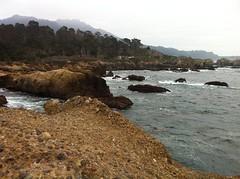 panorama Point Lobos seashore (LOLO Italiana) Tags: ocean ca panorama seascape beach water rocks waves pacificocean carmel centralcoast seashore pointlobos