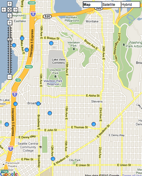February crime maps: Fewer trouble spots on the Hill | CHS ...