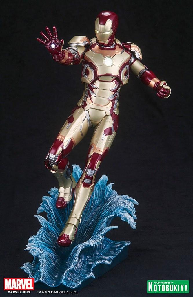 壽屋 - ARTFX 鋼鐵人馬克42 雕像