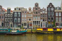Dutch homes on the Singel (farflungistan) Tags: canon7d summer2016 sundayphotowalk amsterdam holland jordaan nederland netherlands streetphotography