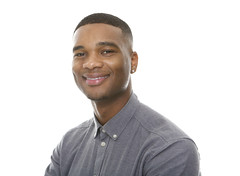 Charming young african american man smiling (bestdesignhelp2016) Tags: adult african american attractive background beautiful beauty black casual charming cheerful closeup confidence confident cool copyspace expression face fashion fashionable gray guy handsome happy head healthy isolated look male man model modern one people person portrait posing positive relax single smiling standing studio style stylish trendy white young