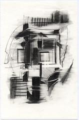 Basel_02 (JENS01) Tags: bleistift zeichnung pencildrawing drawing art kunst sketch skizze malen abstrakt abstractart graphite sketchbook skizzenbuch blackwhite moleskine